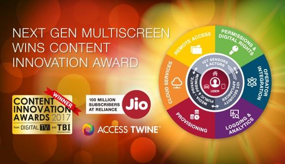 Content Innovation multiscreen Award winner