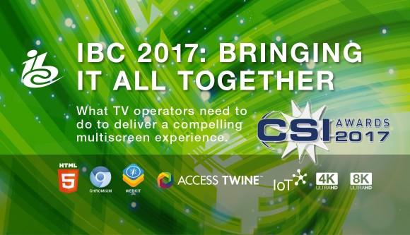 IBC 2017: bringing it all together