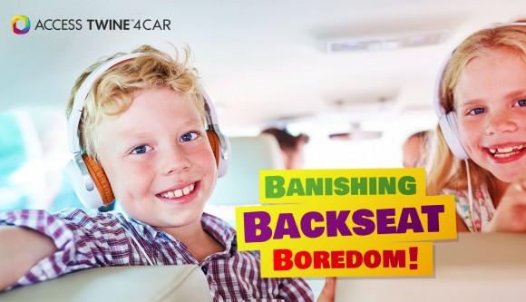 Banishing backseat boredom